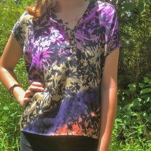 Tops - vintage hawaiian blouse